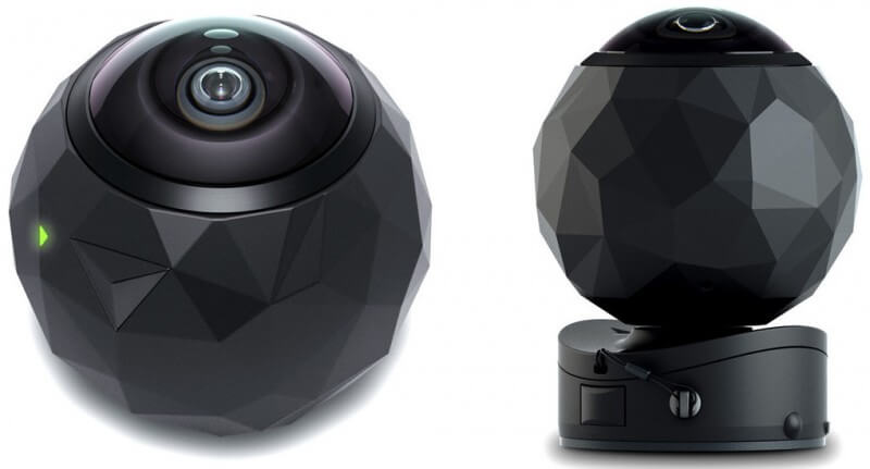360fly Rugged Mountable 360 Degree VR Camera