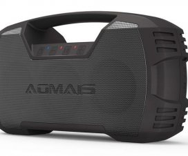 AOMAIS GO Waterproof and Rugged Bluetooth Boombox Speaker