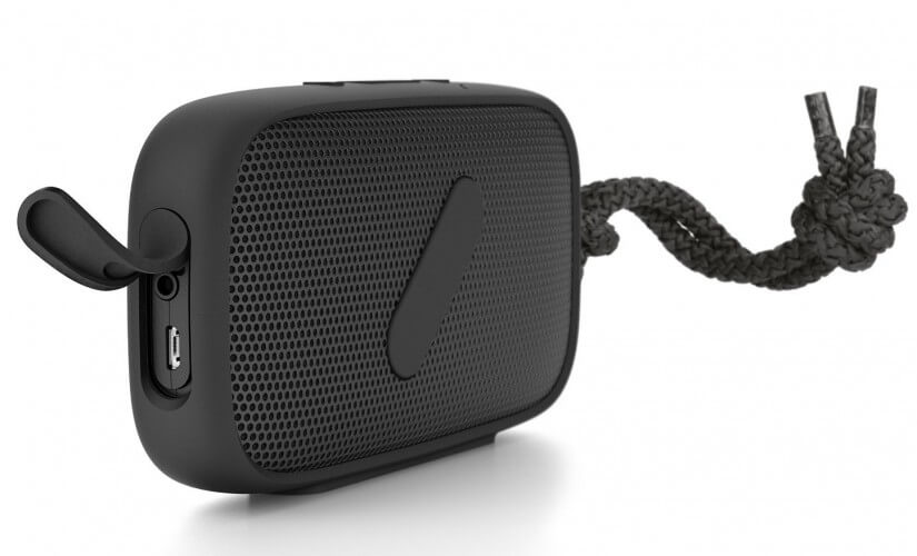 NudeAudio Super-M Best Rugged Bluetooth Speaker for Outdoors