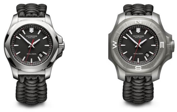 Victorinox Swiss Army INOX Paracord Watch