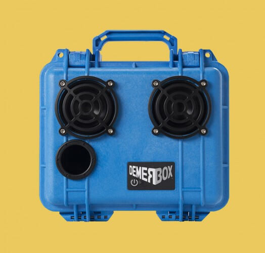 Demerbox Rugged Waterproof Bluetooth Boombox