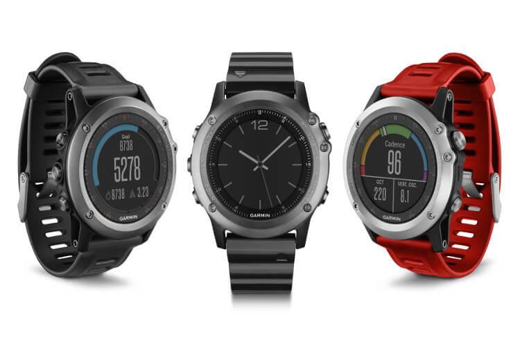Garmin Fenix 3 Waterproof (100-meter WR) GPS Smartwatch