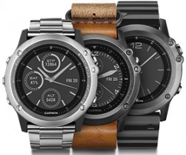 Garmin Fenix 3 Sapphire GPS Fitness Watch