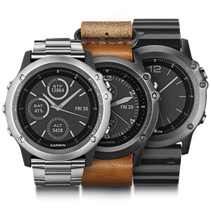 Garmin Fenix 3 Best Garmin GPS Watch for Multi-Sport and Outdoors