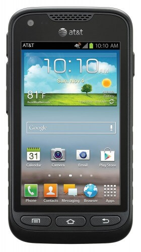 Samsung Galaxy Rugby Pro Best Budget Rugged Smartphone
