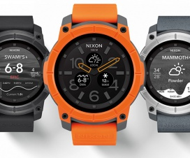 Nixon The Mission Rugged Android Wear Action Sports Smartwatch