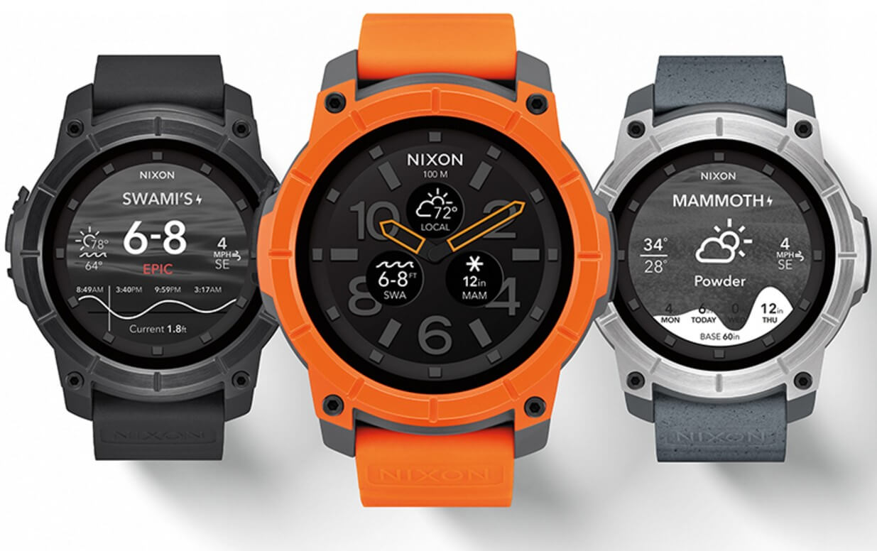 Nixon to launch The Mission: Rugged Android Wear Action ...