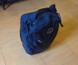 Osprey Ozone Convertible Packed