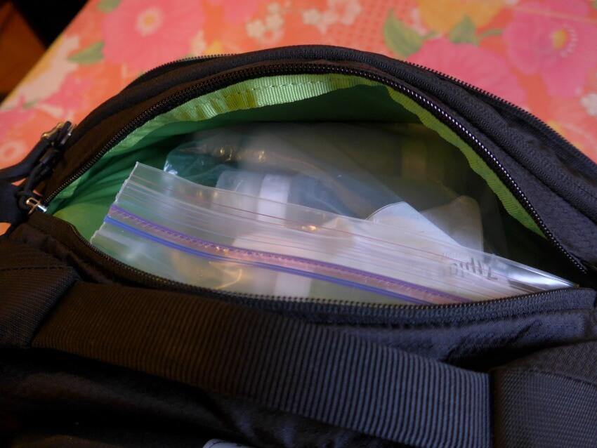 Osprey Ozone Convertible Exterior Pocket