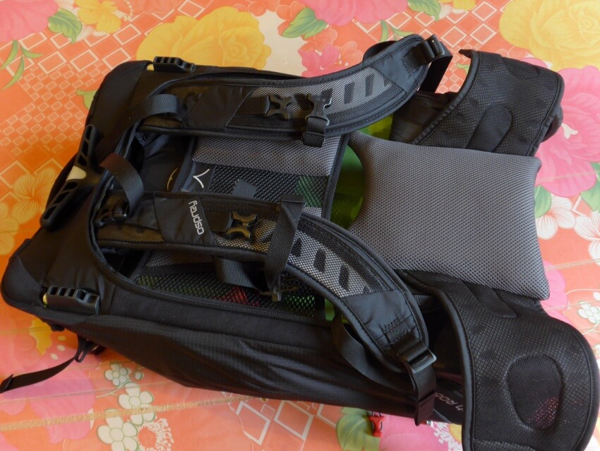 Osprey Ozone Convertible Backpack Straps