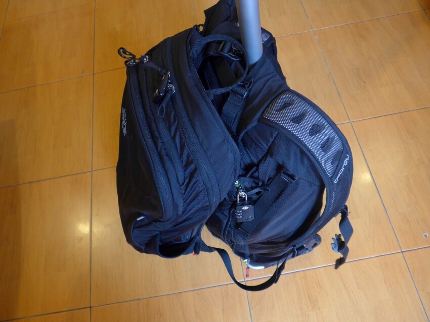 Osprey Ozone Convertible with Daypack