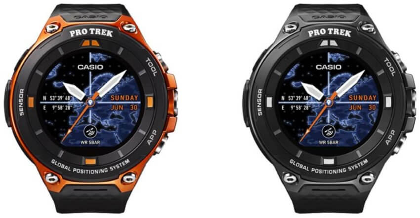 Casio Pro Trek WSD-F20 Smart Outdoor Watch with 50-meter Water Resistance