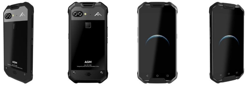 AGM X2 Rugged Smartphone with Dual Rear Camera