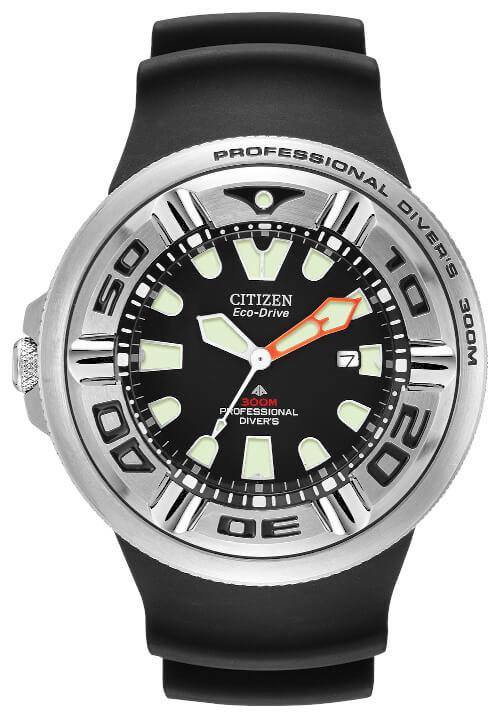 Citizen Promaster Diver BJ8050-08E Eco-Drive Solar Diver's 300+ M