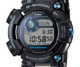 G-Shock Frogman GWF-D1000B-1 ISO 200M Solar Dive Watch