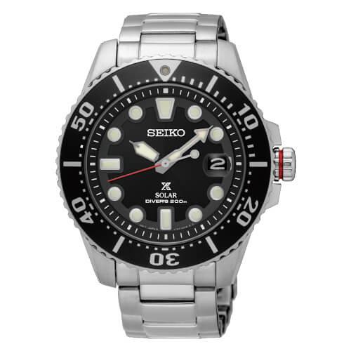Seiko SNE437P1 Solar Diver's 200M Watch