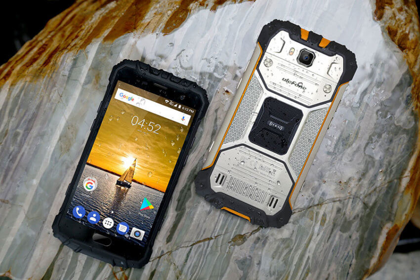 Ulefone Armor 2 Rugged Smartphone with Fingerprint Sensor
