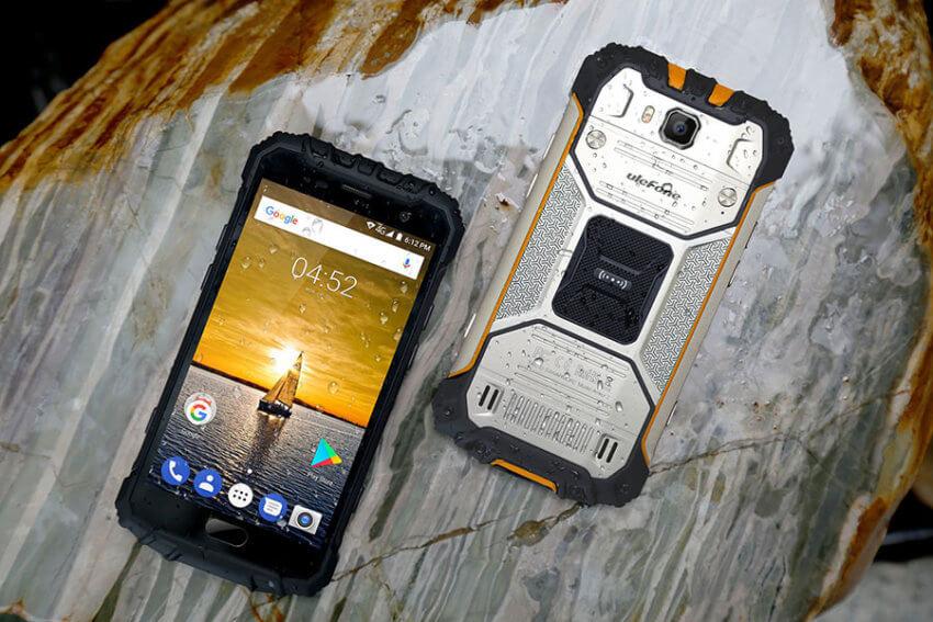 Ulefone Armor 2 Rugged Smartphone with Fingerprint Sensor