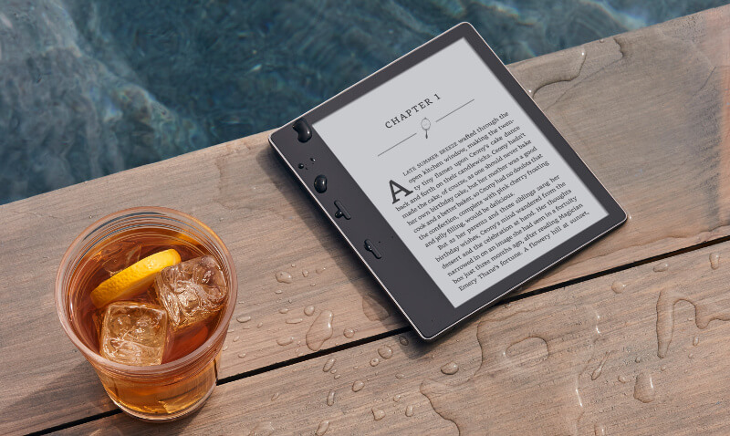 New Kindle Oasis 7″ waterproof e-reader | ToughGadget
