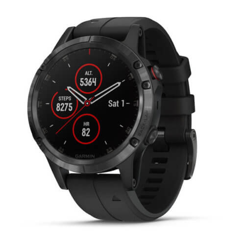 Garmin Fenix 5 Plus Series with 10BAR water-resistance