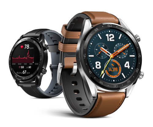 Huawei Watch GT with 5ATM 50-Meter Water Resistance