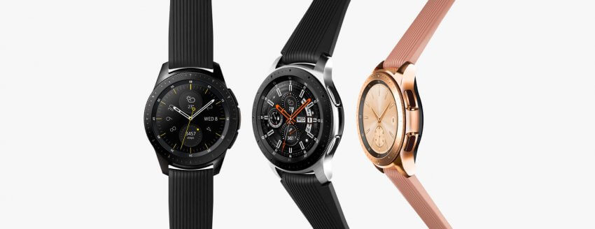 Samsung Galaxy Watch with 50-meter Water Resistance