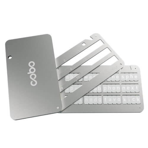 Cobo Tablet Steel Seed Backup