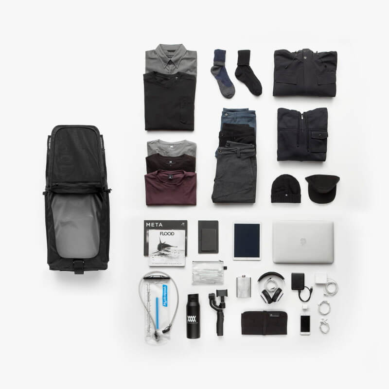 Mission Workshop Radian Travel Pack Capacity