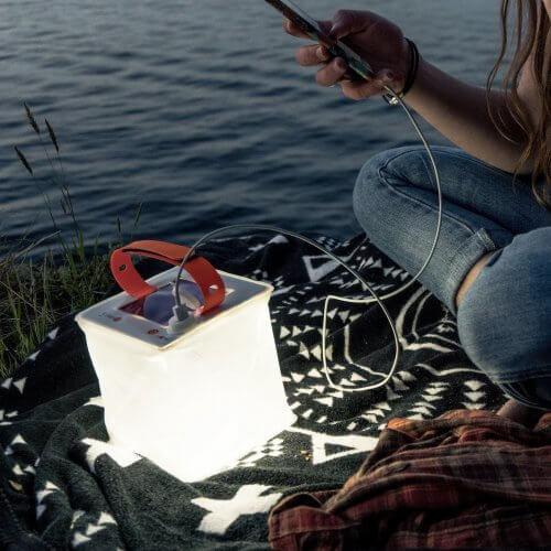 LuminAID Packlite Hero 2-in-1 Inflatable Solar Lantern and Phone Charger