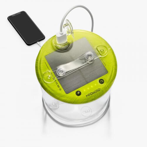MPOWERD Luci Pro Inflatable Solar Light Lantern and Charger