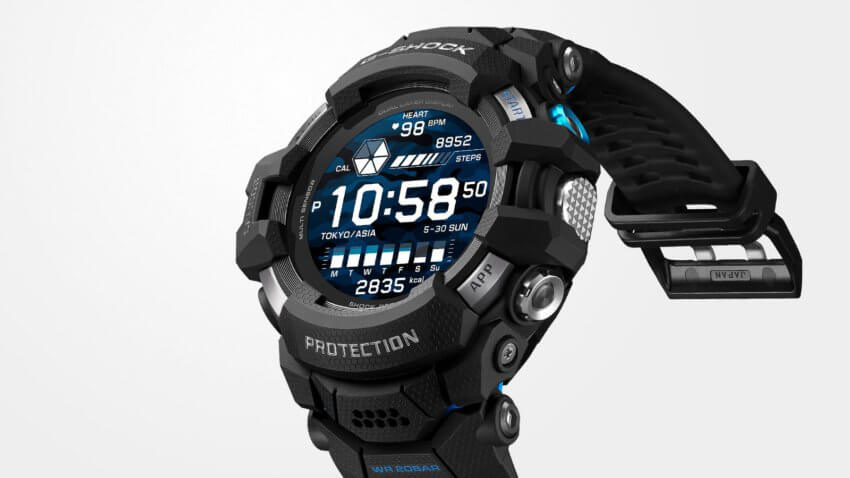 G-Shock GSW-H1000 Rugged Wear OS Smartwatch with 200-meter Water Resistance