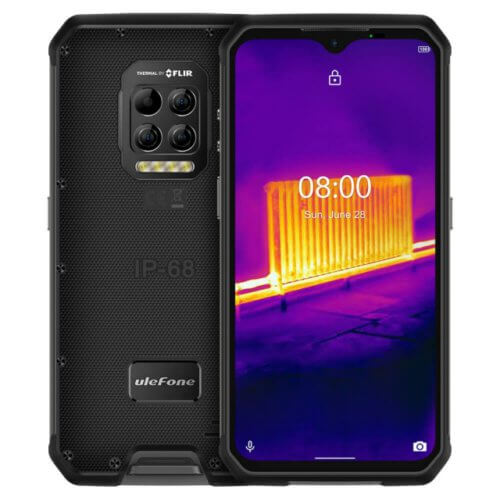 Ulefone Armor 9 Rugged Smartphone with FLIR Thermal Camera and Endoscope